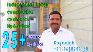 Independent house construction contractors in Hyderabad